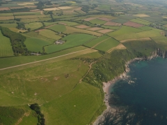 Aerial view of Lambside Farm