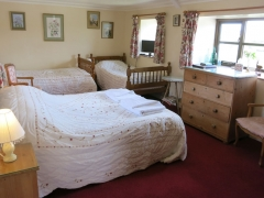 The Byre Family bedroom