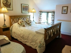Double bedded Pink Campion room