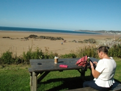 Picnic on Putsborough