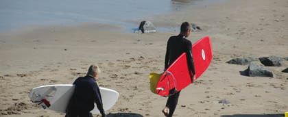 Surfing Holidays in Devon
