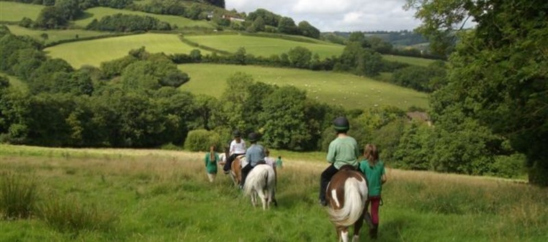 Horse Riding Holidays in Devon