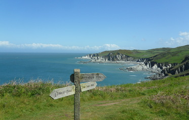 Cliff Path Walk - Mortehoe to Lee